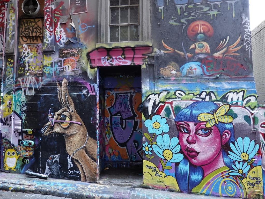 Melbourne: Hosier Lane