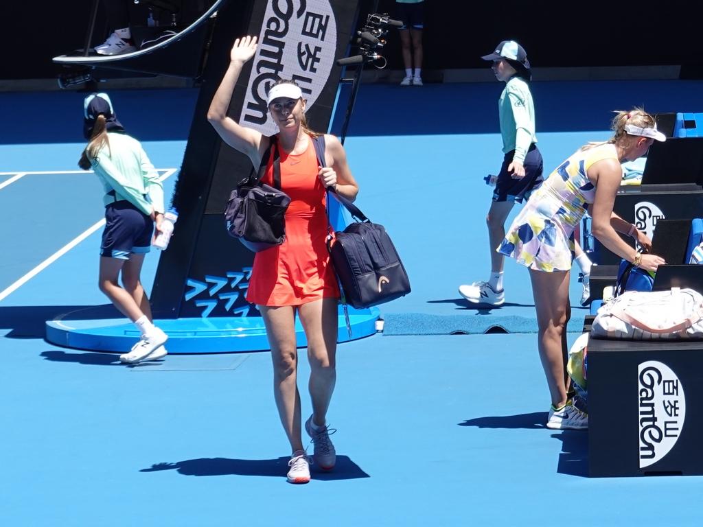 Vekic vs. Sharapova
