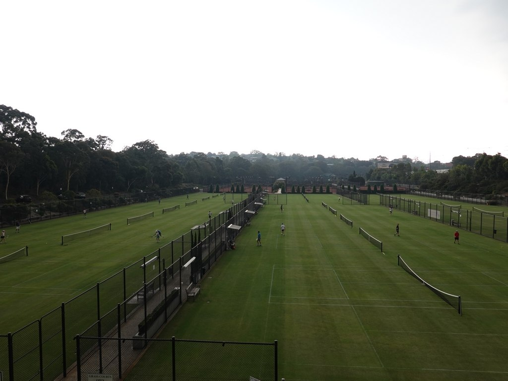 Melbourne: Kooyong Lawn Tennis Club