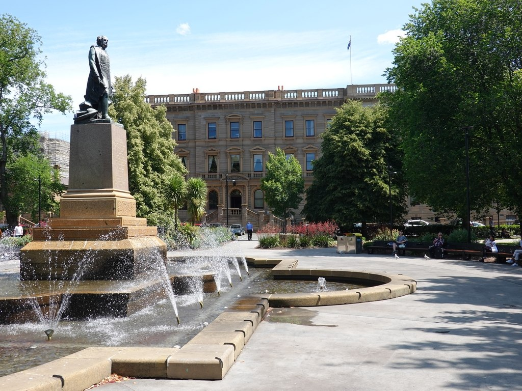 Hobart: Franklin Square