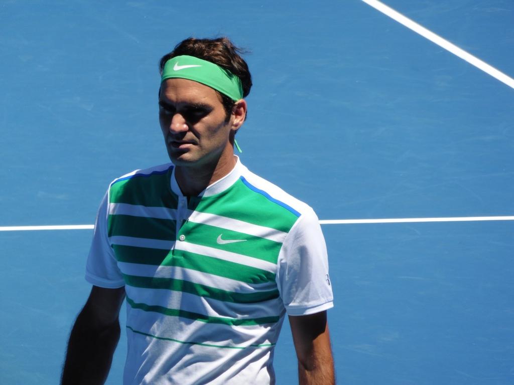 Federer vs. Dolgopolov