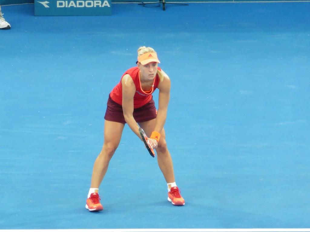 Kerber vs. Pavlyuchenkova