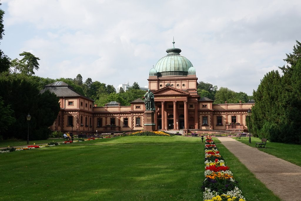 Bad Homburg vor der Höhe: Emperor Wilhelm's Spa @ Kurpark