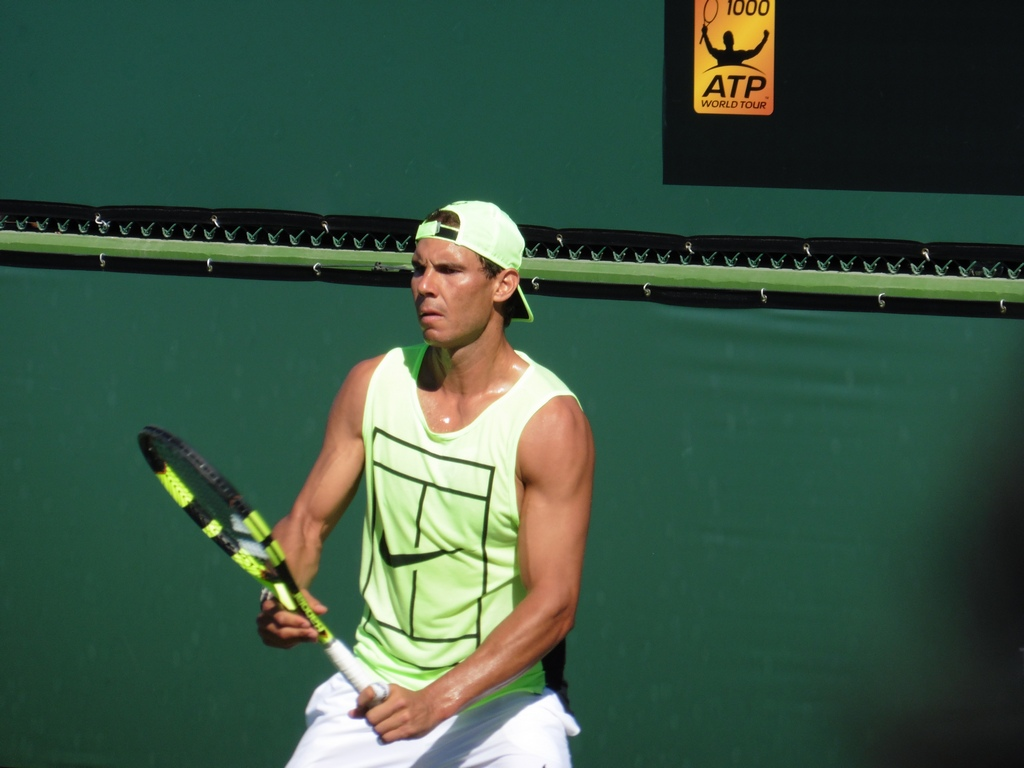 Nadal Practice Session