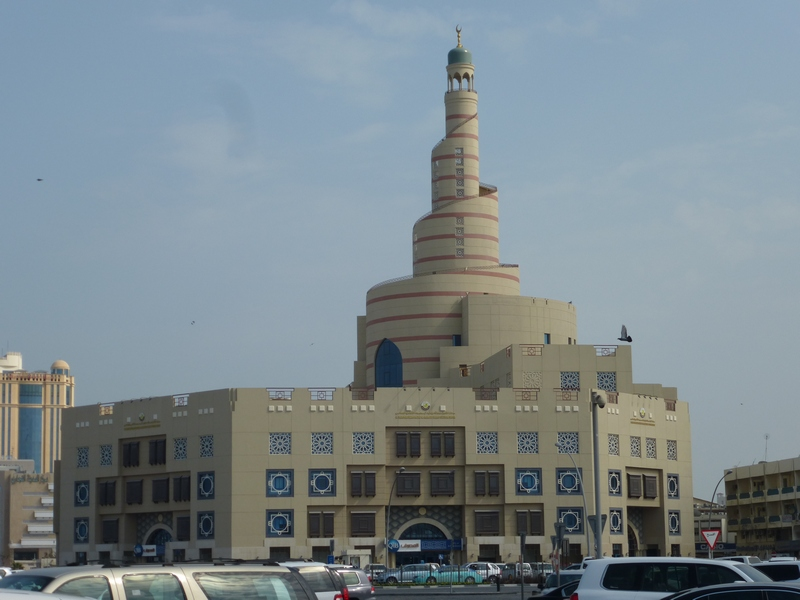 Spiral Mosque / Spiral-Moschee