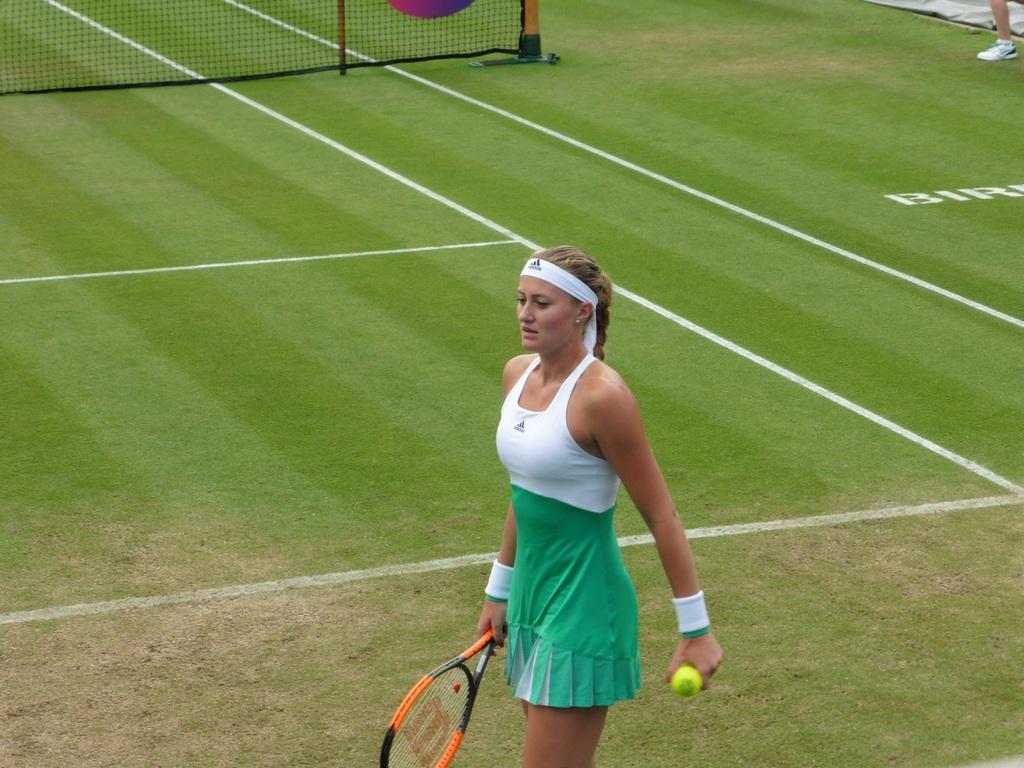 WTA Birmingham: Kvitova vs. Mladenovic