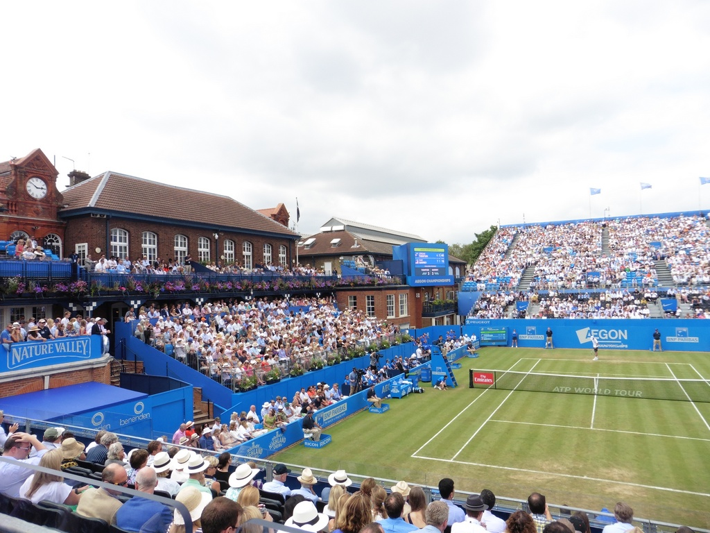 ATP Queen's Club: Querrey vs. Thompson
