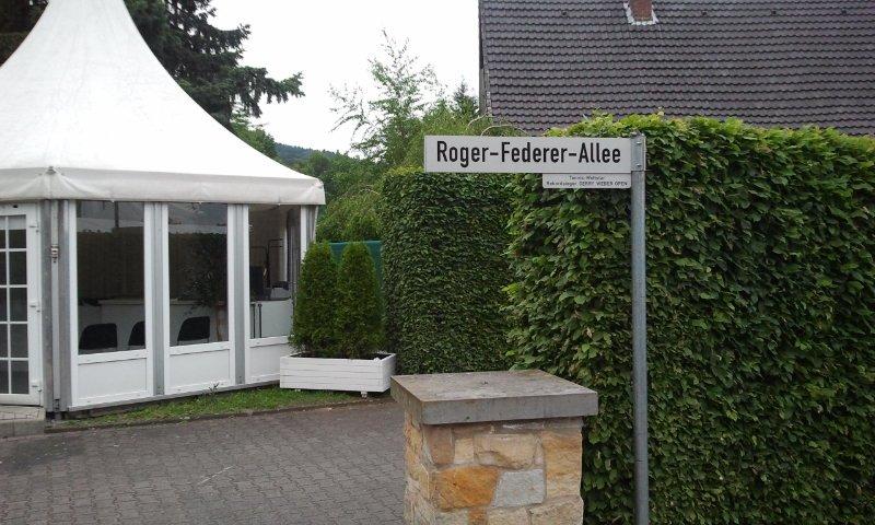 Roger Federer Alley