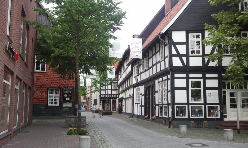 City center of Halle / Stadtkern von Halle