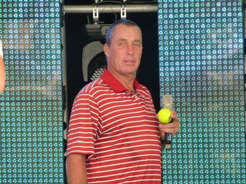 Ivan Lendl on Stage