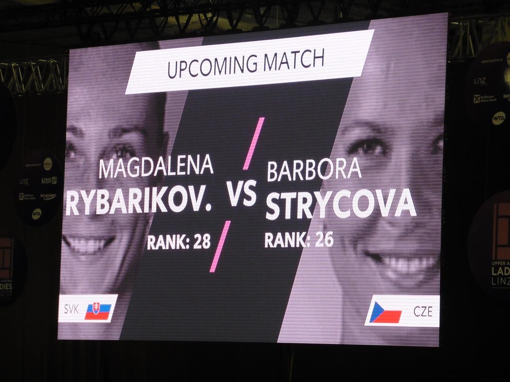 Strycova vs. Rybarikova
