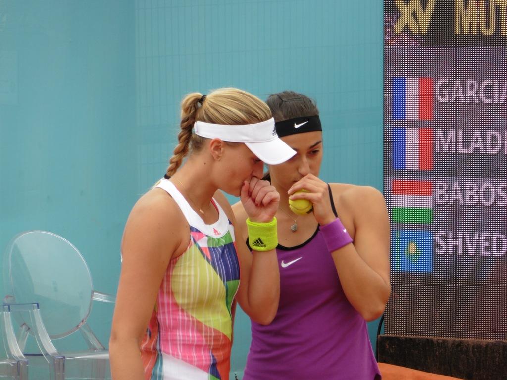 Garcia/Mladenovic vs. Babos/Shvedova