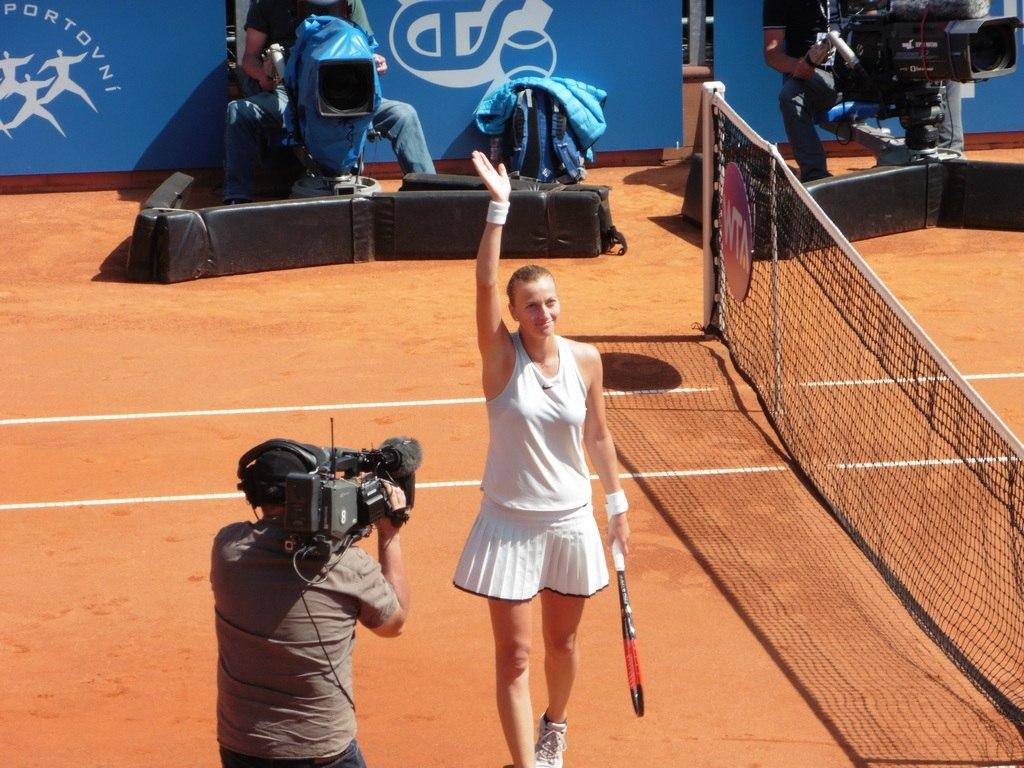 Kvitova vs. Vikhlyantseva