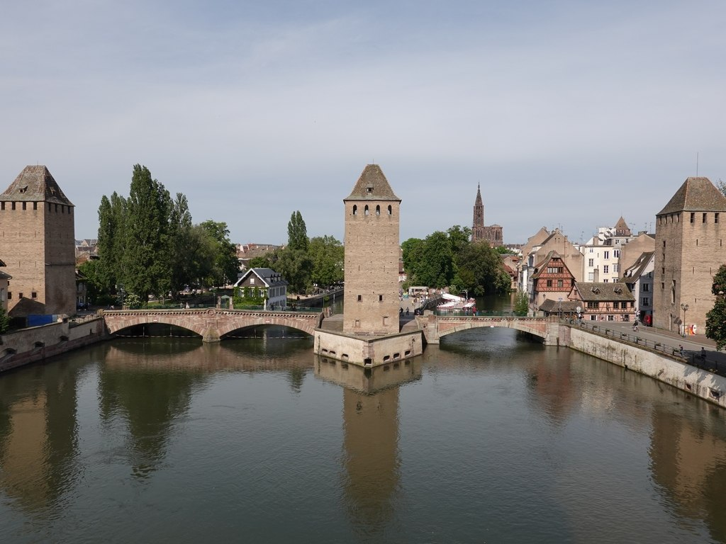 Strasbourg / Straßburg: Ponts couverts