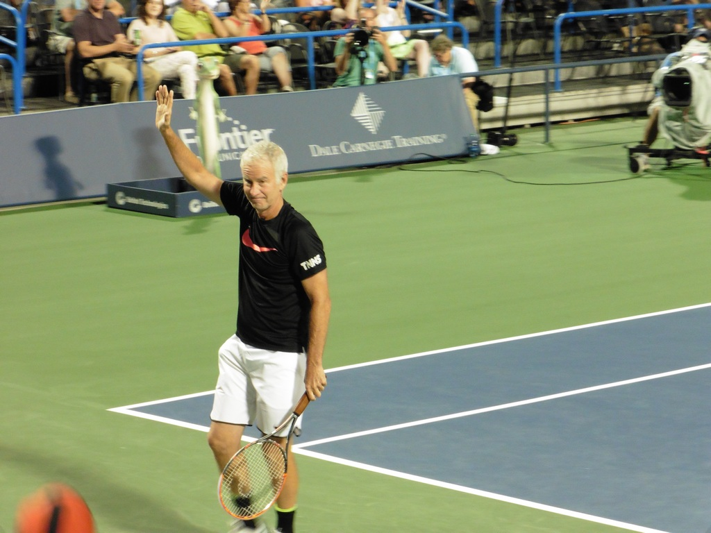 McEnroe vs. Blake