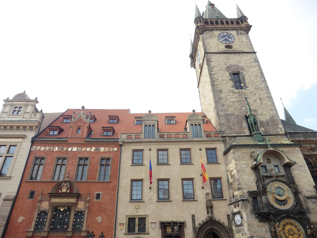 Prague Astronomical Clock / Prager Rathausuhr