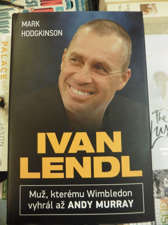 Czech Edition of 'Ivan Lendl - The Man Who Made Murray'