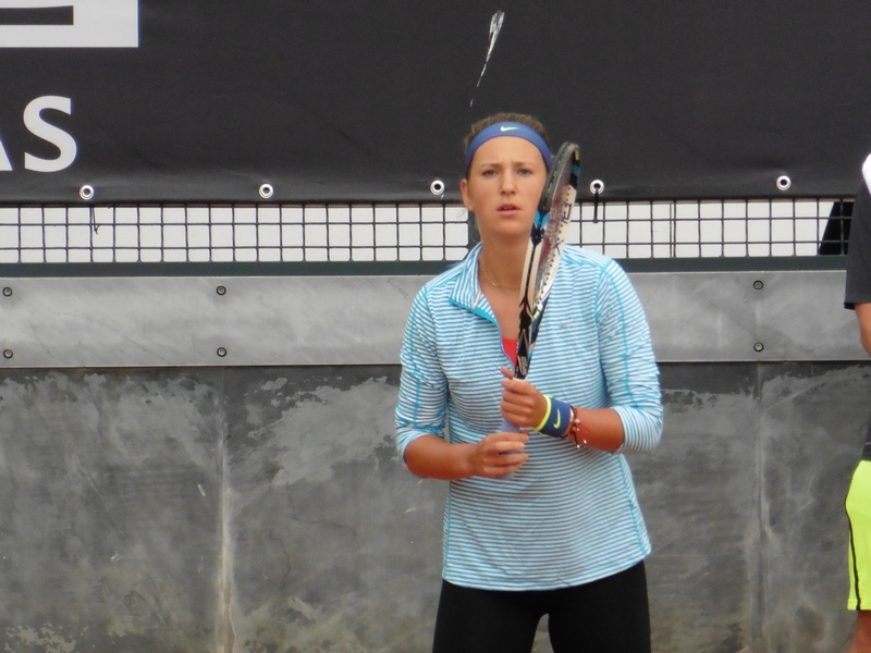 Azarenka Training