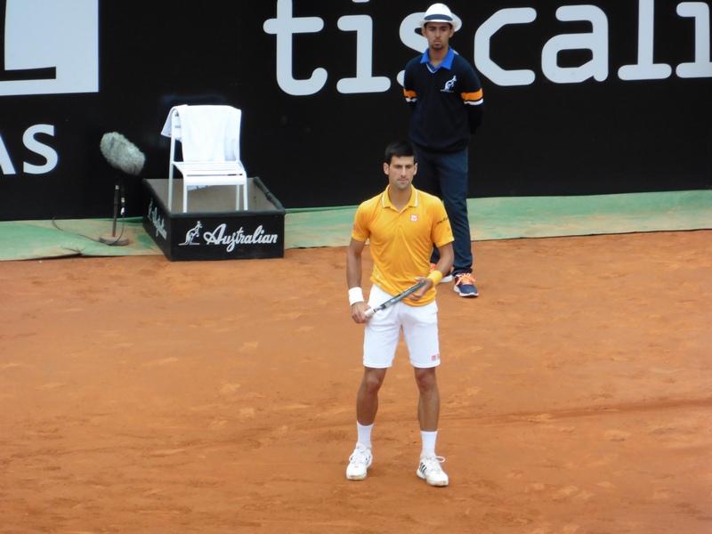 Djokovic vs. Nishikori