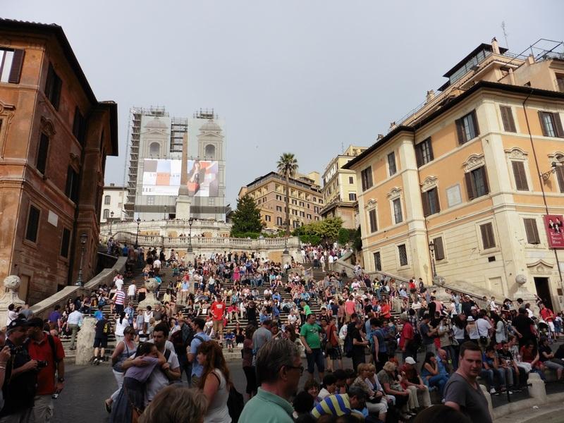 Scalinata di Trinità dei Monti / Piazza di Spagna