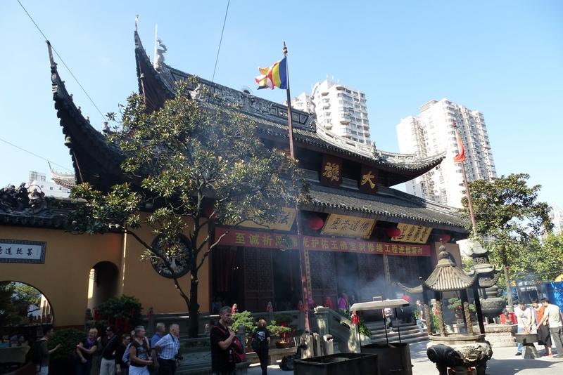 Jade Buddha Temple / Jadebuddha-Tempel