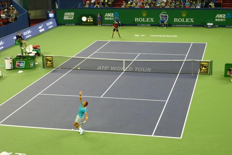 F. Lopez vs. Nadal