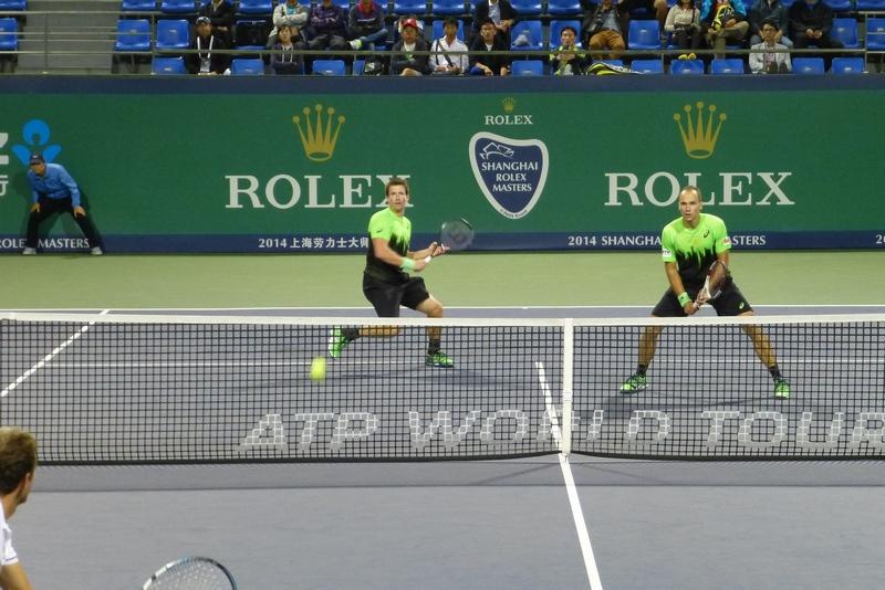 Peya / Soares vs. Benneteau / Roger-Vasselin