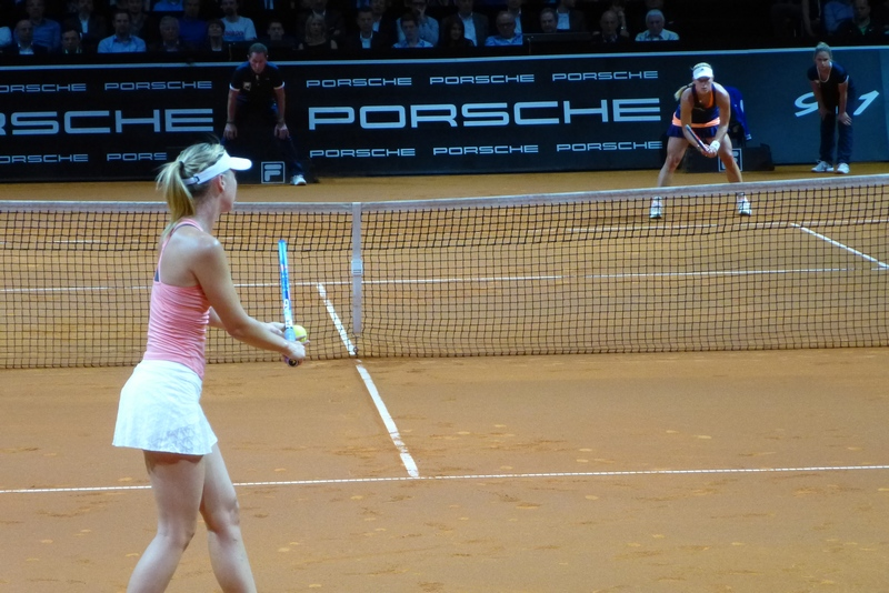 Kerber vs. Sharapova